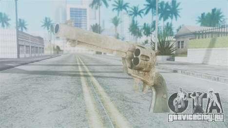 Red Dead Redemption Revolver Sergio для GTA San Andreas