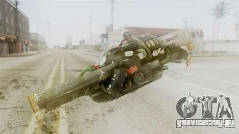 Ghostbuster Proton Gun для GTA San Andreas второй скриншот