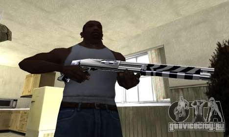 Black Lines Shotgun для GTA San Andreas