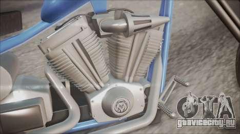 LCC Hexer GTA 5 HQLM для GTA San Andreas вид сзади