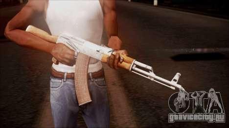 AK-47 v8 from Battlefield Hardline для GTA San Andreas третий скриншот