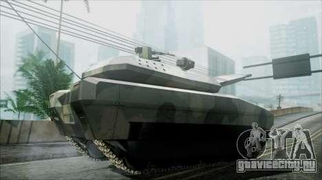 PL-01 Concept Camo для GTA San Andreas вид сзади слева
