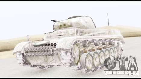 Panzerkampwagen II Snow для GTA San Andreas