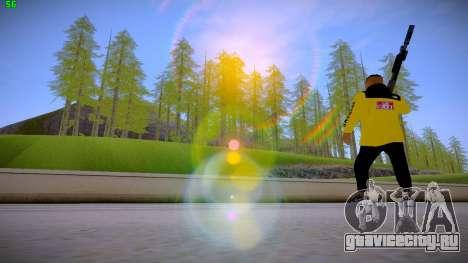 Supr3me Skin для GTA San Andreas четвёртый скриншот
