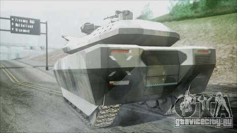 PL-01 Concept Camo для GTA San Andreas вид слева