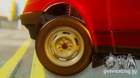 ВАЗ 2109 Сток для GTA San Andreas вид сзади слева