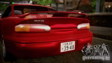Mazda MX-6 (GE5S) для GTA San Andreas вид сбоку