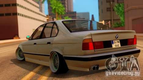 BMW M5 E34 Stance для GTA San Andreas вид слева
