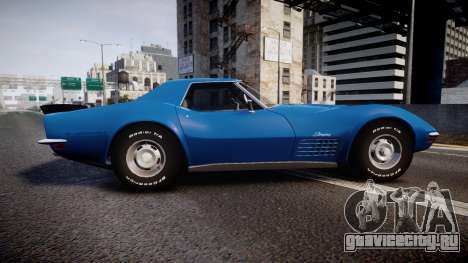 Chevrolet Corvette ZR1 1970 [EPM] для GTA 4 вид слева