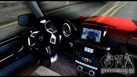 Mercedes-Benz G65 Hamann 2013 для GTA San Andreas вид сзади слева