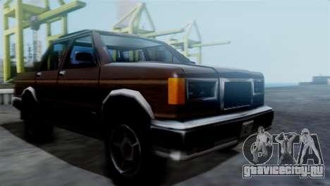 Landstalker Pickup для GTA San Andreas