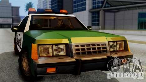 SAPD Cruiser для GTA San Andreas вид справа