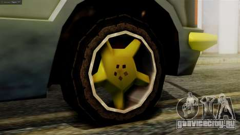 Huntley New Edition для GTA San Andreas вид сзади слева