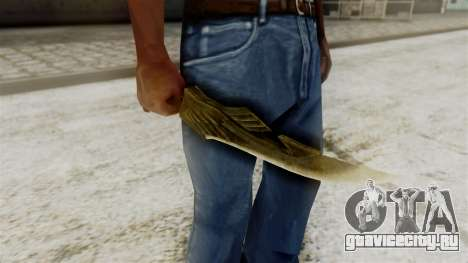 Elven Dagger для GTA San Andreas третий скриншот