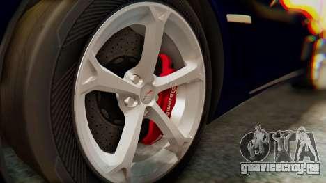 Chevrolet Corvette Sport для GTA San Andreas вид справа