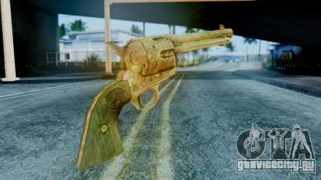 Red Dead Redemption Revolver Diego Assasin для GTA San Andreas второй скриншот