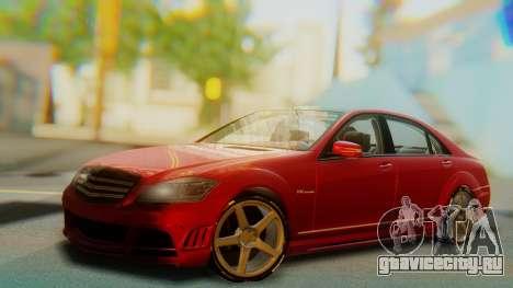 Mercedes-Benz S65 для GTA San Andreas