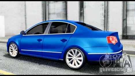 Volkswagen Passat B6 для GTA San Andreas вид справа