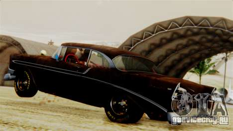 Chevrolet Bel Air 1956 Rat Rod Street для GTA San Andreas салон