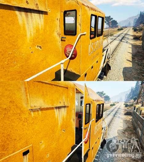 Инженер железной дороги v3.1 для GTA 5 четвертый скриншот