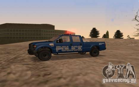 Ford F-250 Incident Response для GTA San Andreas вид слева