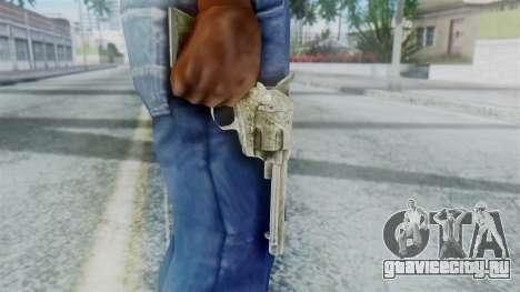 Red Dead Redemption Revolver Sergio для GTA San Andreas третий скриншот