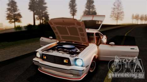 Ford Mustang King Cobra 1978 для GTA San Andreas вид сбоку