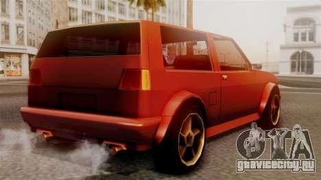 Club New Edition для GTA San Andreas вид слева
