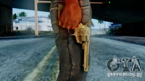 Red Dead Redemption Revolver Diego Assasin для GTA San Andreas третий скриншот
