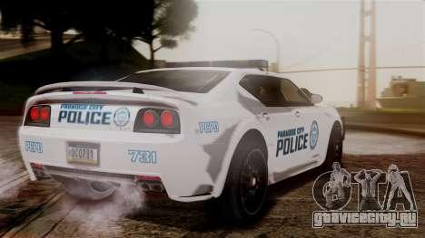 Hunter Citizen from Burnout Paradise v3 для GTA San Andreas вид слева