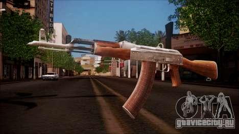 AK-47 v8 from Battlefield Hardline для GTA San Andreas
