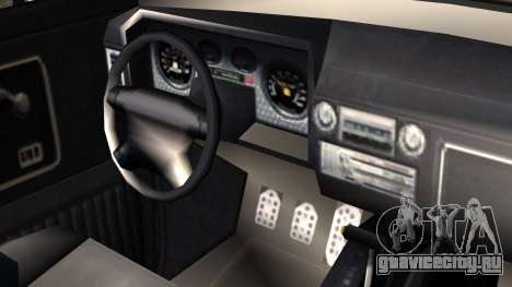 GTA 5 Vapid Slamvan Pickup IVF для GTA San Andreas вид справа