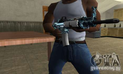 Auto M4 для GTA San Andreas третий скриншот