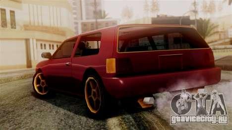 Flash New Edition для GTA San Andreas вид слева