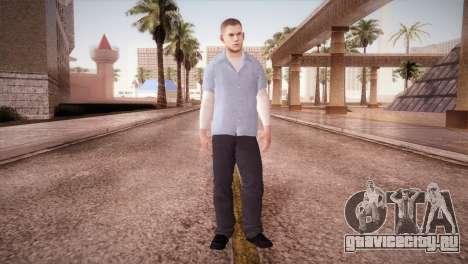 Michael Scofield Тюремная форма для GTA San Andreas второй скриншот