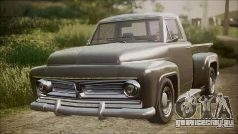 GTA 5 Vapid Slamvan Pickup IVF для GTA San Andreas