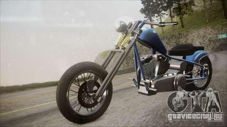 LCC Hexer GTA 5 HQLM для GTA San Andreas вид справа