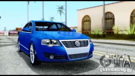 Volkswagen Passat B6 для GTA San Andreas вид слева