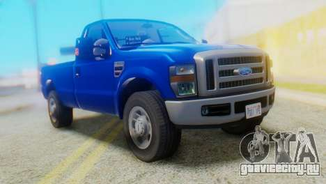 Ford F-350 Super Duty Regular Cab 2008 HQLM для GTA San Andreas