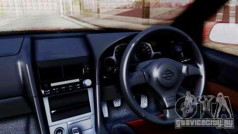 Nissan Skyline ER34 для GTA San Andreas вид справа