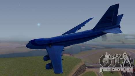 AT-400 Argentina Airlines для GTA San Andreas вид слева