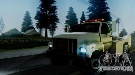 GMC Topkick Towtruck для GTA San Andreas