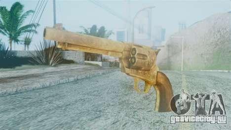 Red Dead Redemption Revolver Cattleman Diego v2 для GTA San Andreas