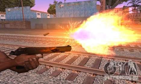 Deagle Flame для GTA San Andreas второй скриншот