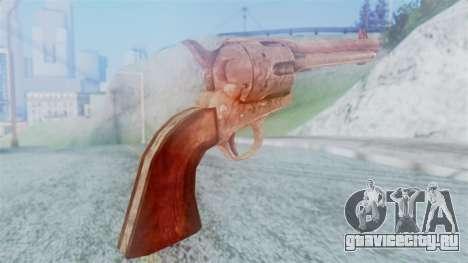 Red Dead Redemption Revolver Cattleman для GTA San Andreas второй скриншот