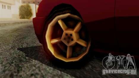 Flash New Edition для GTA San Andreas вид сзади слева