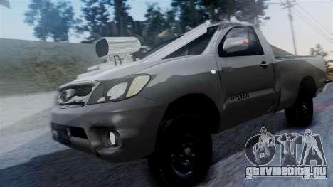 Toyota Hilux 2015 для GTA San Andreas