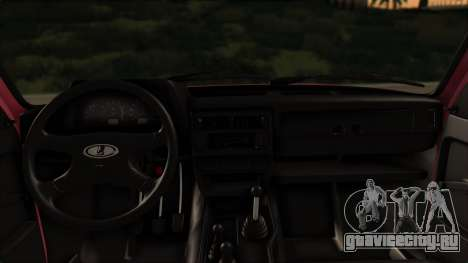 ВАЗ 2121 Нива Сток для GTA San Andreas вид сзади