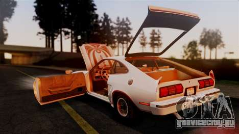 Ford Mustang King Cobra 1978 для GTA San Andreas вид снизу