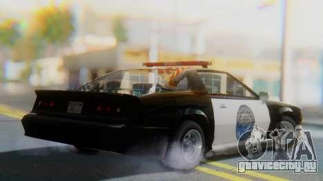 Buffalo Sheriff для GTA San Andreas вид слева